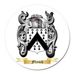 Ffrench Round Car Magnet
