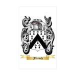 Ffrench Sticker (Rectangle 10 pk)