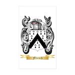 Ffrench Sticker (Rectangle 50 pk)