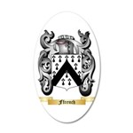 Ffrench 20x12 Oval Wall Decal