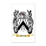 Ffrench 35x21 Wall Decal