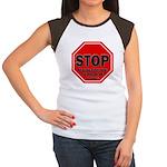 Stop Believing the Inte Women's Cap Sleeve T-Shirt