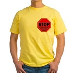 Stop Believing the Internet Yellow T-Shirt