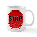 Stop Believing the Internet Mug