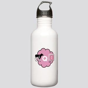 Cow Q Late Water Bottle