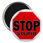Stop Stupid Magnet