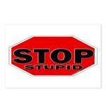Stop Stupid Postcards (Package of 8)