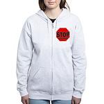 Stop Stupid Women's Zip Hoodie
