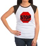 Stop Stupid Women's Cap Sleeve T-Shirt
