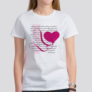 I carry your heart 10x10 T-Shirt
