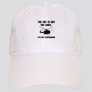 Sky Playground Helicopter Baseball Cap