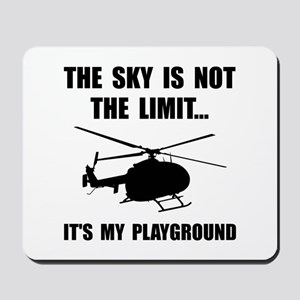 Sky Playground Helicopter Mousepad