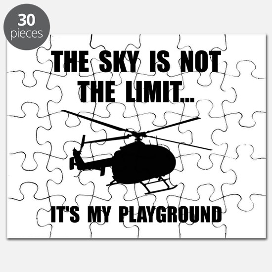 Sky Playground Helicopter Puzzle