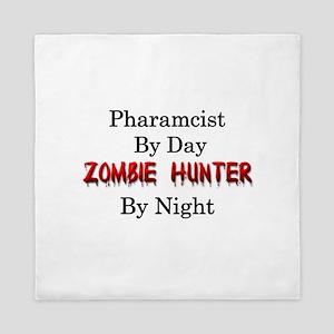 Pharmacist/Zombie Hunter Queen Duvet