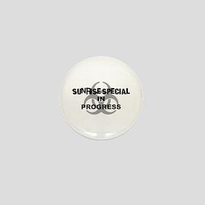 Sunrise Special Mini Button