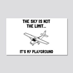 Sky Playground Plane Wall Decal