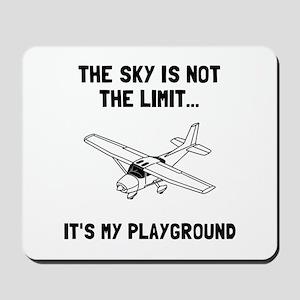 Sky Playground Plane Mousepad
