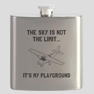 Sky Playground Plane Flask