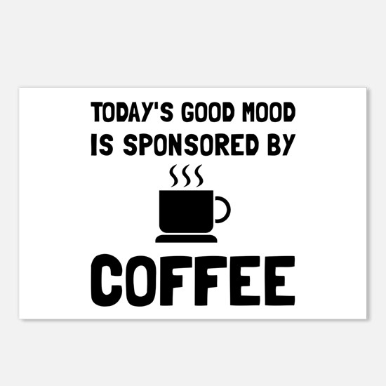 Sponsored By Coffee Postcards (Package of 8)