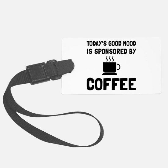 Sponsored By Coffee Luggage Tag