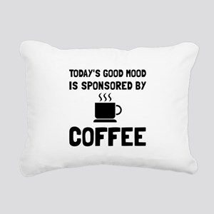 Sponsored By Coffee Rectangular Canvas Pillow