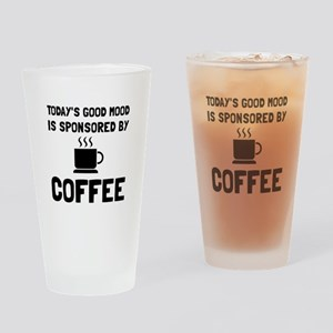 Sponsored By Coffee Drinking Glass