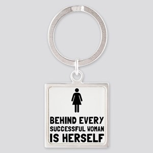 Successful Woman Keychains