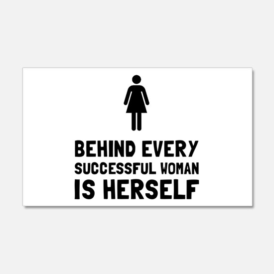 Successful Woman Wall Decal