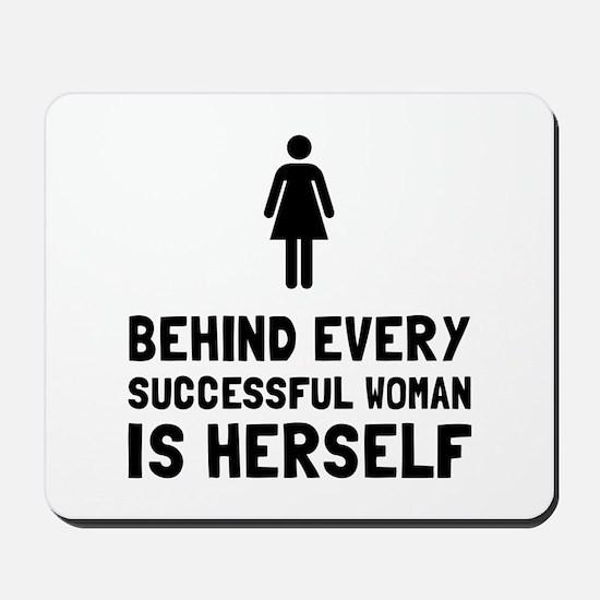 Successful Woman Mousepad