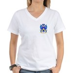 Feubre Women's V-Neck T-Shirt