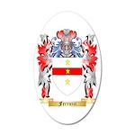 Ferruzzi 35x21 Oval Wall Decal