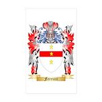 Ferrucci Sticker (Rectangle 50 pk)