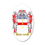 Ferrucci 35x21 Oval Wall Decal
