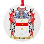 Ferron Round Ornament