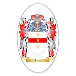 Ferro Sticker (Oval 50 pk)