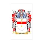 Ferrino Sticker (Rectangle 50 pk)