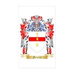 Ferrini Sticker (Rectangle 50 pk)