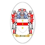 Ferrini Sticker (Oval 50 pk)