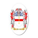 Ferrini 35x21 Oval Wall Decal