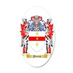 Ferrin Oval Car Magnet