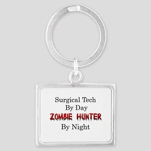 Surgical Tech/Zombie Hunter Landscape Keychain