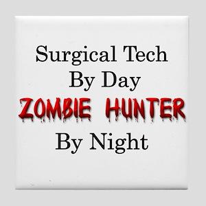 Surgical Tech/Zombie Hunter Tile Coaster