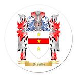 Ferrillo Round Car Magnet