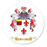 Ferrighi Round Car Magnet
