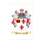 Ferrighi Sticker (Rectangle 50 pk)