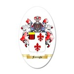 Ferrighi 35x21 Oval Wall Decal