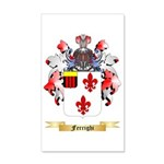 Ferrighi 35x21 Wall Decal