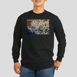 Pile of wood Long Sleeve T-Shirt