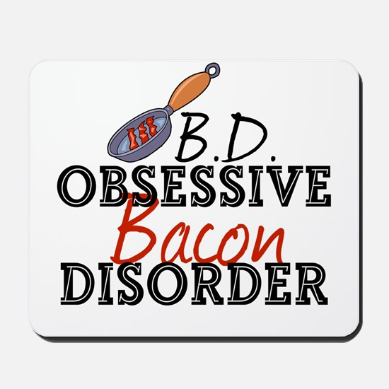 Funny Bacon Mousepad