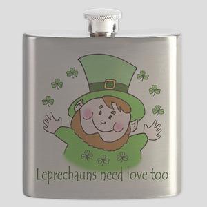 Leprechauns need love too Flask